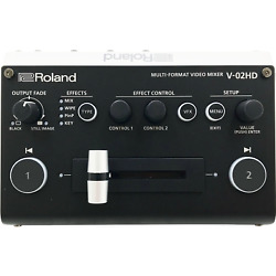 Roland V-02hd Compact Multi-format Video Switcher - Factory Certified Warranty