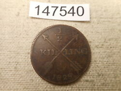 1829 Sweden 1/2 Skilling Collectible Album Grade Unslabbed Raw Coin - 147540