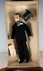 Vintage Effanbee President Abraham Lincoln 16 Doll In Box