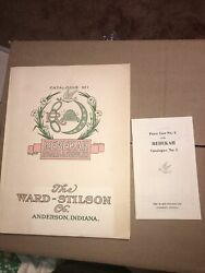 1900's Anderson Indiana Ward-stilson Rebekah Illustrated Catalog No 1 Price List