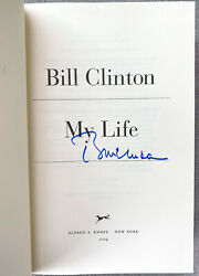 President Bill Clinton Signed In-person 1st Ed. My Life Hardcover Book Authentic