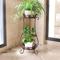 Wrought Iron Plant Stands Indoor Outdoormetal Tall Plant Stand Iron Flower S...