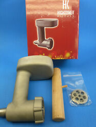 Used Heavy Duty Cast Stainless Steel Meat Grinder Chopper For Kitchenaid Mixer