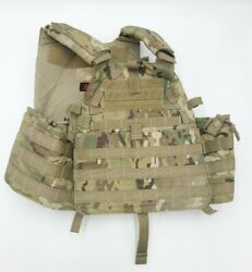 Lbt-6904b Modular Large Plate Carrier Tactical Vest Without Inserts Size Large