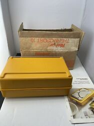 Rieberwerke Thermoport 90 Degree Celsius Food Container Lunchbox Military Grade