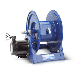 Coxreels 1125pcl-8m-ed Electric 12v Dc Explosion Proof 1/2hp Motor Rewind Hose R