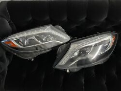 2014 Oem Mercedes-benz S550 W222 Headlights Pair Used A2228200859 A2228200959