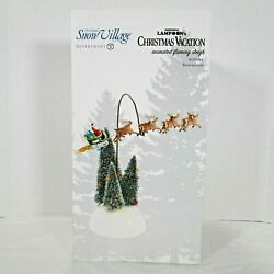 Department 56 Animated Flaming Sleigh National Lampoon's Christmas Vacation