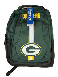 Nfl Green Bay Packers Action Backpack Forever Collectibles Nwt