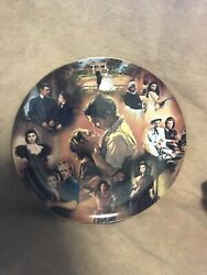 Bradford Exchange Gone With The Wind Plate A Story Of Passion 1st Issue A4008