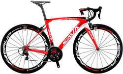 Carbon Road Bike Sava Herd6.0 T800 Carbon Fiber 700c Road Bicycle With 105 22 S
