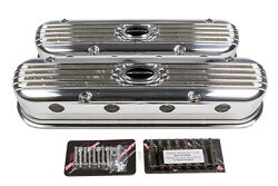 Billet Specialties Valve Cover Ls3 Modular Ribbed Profile Polished