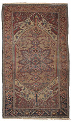 Hand Made Antique Oriental Rug 3.1and039 X 5.4and039 94cm X 164cm 1880 1b163