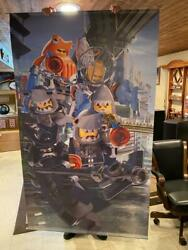 Rare Huge Lego Toys R Us Store Display Banner 84 X 48
