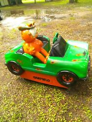 Coin Operated Kiddie Ride Garfield The Cat