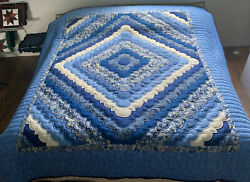 Amish Quilt For Sale Handmade Ocean Waves New Amish Queen Or King Quilt