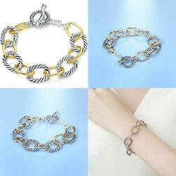 Uny Link Bracelet Designer Brand Inspired Antique Women Jewelry Cable Wire Vinta