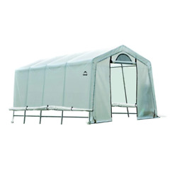 Shelterlogic Growlt Greenhouse-in-a-box 10 Ft. X 8 Ft. Uv Treated Cover Window