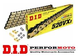 Did 520 Pitch Vx3 Chain To Fit Hyosung Gt250 Comet Naked 04-15