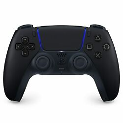 Sony Playstation 5 Ps5 Dualsense Wireless Controller Midnight Black Preorder