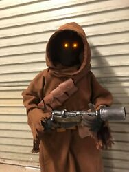 Star Wars Life Size Jawa High Quality Hand Made Statue Prop And Blaster