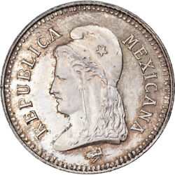 [877886] Coin, Mexico, 80th Anniversary Independance, 2 Centavos, 1890, Pattern