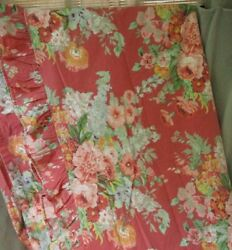Vintage Beach House Fushia 2 Sheets Fitted Queen And Flat Full