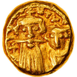[877900] Coin, Constans Ii And Constantine Iv, Solidus, 659-668, Carthage, Ef