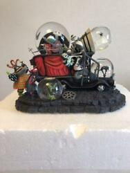 Used Disney Nightmare Before Christmas Snow Globe World Only 500 With Box