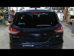 Hatch Tailgate Black Privacy Tint Glass Manual Lift Fits 14-16 Escape 704302