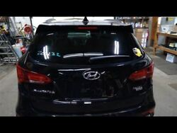 Hatch Tailgate Sport Black With Camera Fits 17-18 Santa Fe Paint Code S3b 714976
