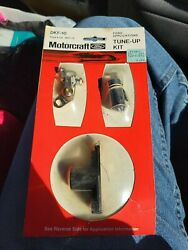 Motorcraft Tune-up Kit -- Dfk-10 Ford Applications 8 Cly 1957-73