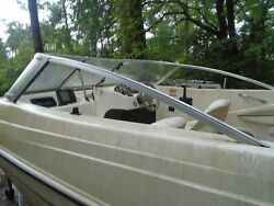 Glastron Mx-175 Side Windshield Frames No Glass These Two Piece Only