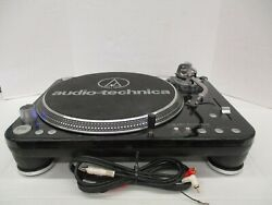 Audio-technica At-lp1240usb Direct Drive Turntable Fully Operational
