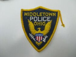 Middletown Ohio Police Shoulder Patch Oh