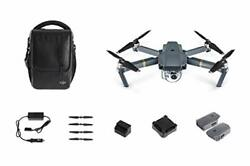 Dji Mavic Pro Fly More Combo   3 Axis Gimbal 4k Camera Drone With Accessories