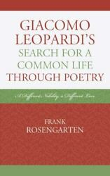 Giacomo Leopardi's Search For A Common Life Through Poetry A Different Nobil...