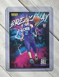 2020-2021 Lamelo Ball Panini Instant Rookie Breakaway 5 Sp - 1/5357 Hornets Rc