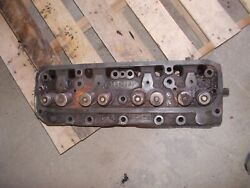 Farmall M Mv Ih Tractor Engine Motor Cylinder Head W/ Valves