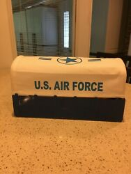 Marx Military Truck Canopy U.s. Air Force White Blue Lettering
