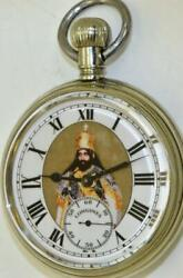 Historic Longines Grand-prix Diplomatic Pocket Watch Awarded By Haile Selassie I