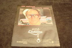 Pink Cadillac 1989 Ad With Handcuffs, Clint Eastwood, Bernadette Peters