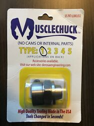 Derosa Engineering Muscle Chuck Type 1 Router Collet Porter Cable Routers New