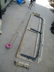 Used Ibis Tek Bae Knockout Window Frame Parts, For Hmmwv M1151 M1114