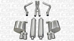 Corsa 2.5 Dual Rear Cat-back Exhaust 2011-2014 Dodge Charger R/t 5.7l V8