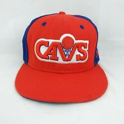 Cleveland Cavaliers Fitted Hat Cap 7 5/8 Hardwood Classics New Era 59fifty
