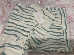 2300 Pratesi Italy Nwt 4pc Queen Sheet Set Wild Stripes 100 Percale