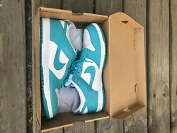 Nike Dunk Low Mineral Blue Ostrich Pack Size 15