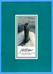 Uss Santa Fe Ssn-763 Launching Program December 12, 1992 - 10 Pages