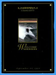 Uss Columbia Ssn-771 Launching Program September 24, 1994 - 10 Pages